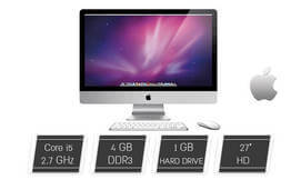 מחשב Apple iMac AIO מסך