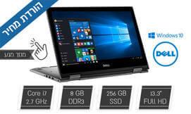 נייד Dell עם מסך מגע ומעבד i7