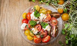 ארוחת בריאות בנמל תל אביב