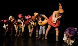 שלגיה והגמדים במופע פלמנקו