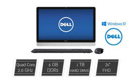 מחשב Dell AIO מסך