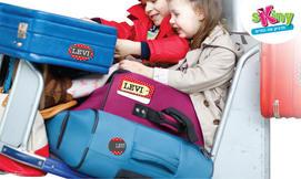 מדבקות שם לסימון מזוודות