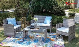 סט ריהוט לגינה ולמרפסת