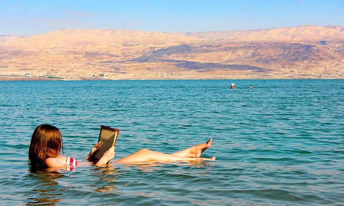 חוף ביאנקיני בים המלח