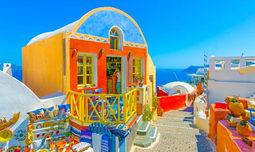 הפלגה לרודוס וסנטוריני, יוון