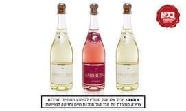 בנא משקאות - 3 בקבוקי אמברוזיה