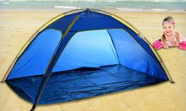 אוהל חוף פתוח