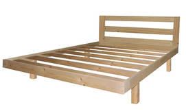 בסיס מיטה זוגית עשוי עץ