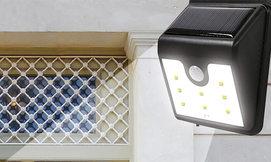 תאורת חיישן סולארית
