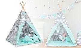 אוהל טיפי לחדר הילדים