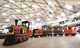 רכבת שרונה מרקט, אטרקציה חדשה