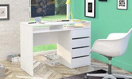 שולחן כתיבה משולב מגירות
