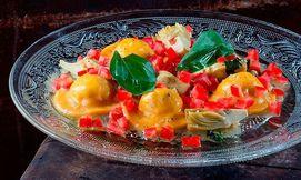 ארוחה במסעדת איטלקיה בפשפשים