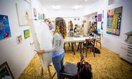 סטודיו לאמנות בתל אביב