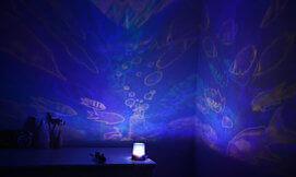 מנורת לד מיוחדת לחדר הילדים