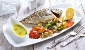ארוחת דגים זוגית במרינה אילת