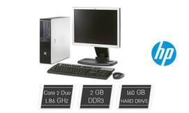 מחשב נייח HP + מסך