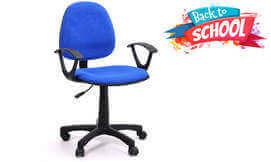 כיסא סטודנט מרופד