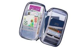 תיק מסמכים לנסיעות