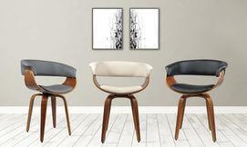 כיסא מהודר מעץ