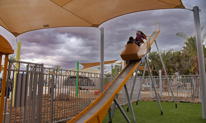 פארק יטבתה - אטרקציה לכל המשפחה