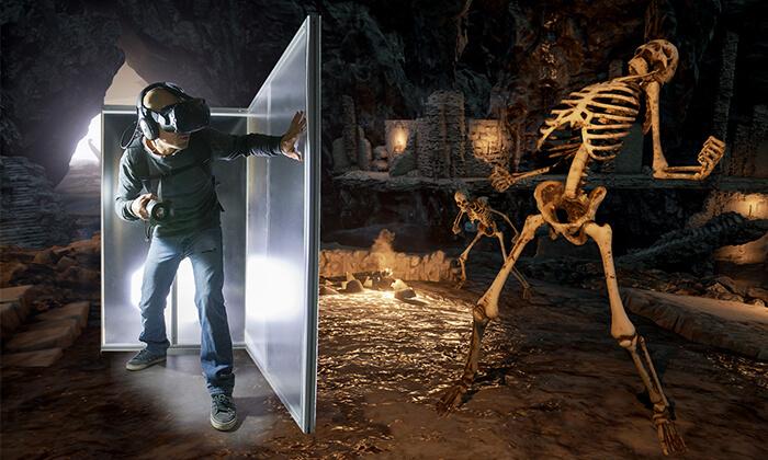 2 משחקי מציאות מדומה בספייס לייזר, ירושלים
