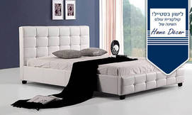 מיטה מרופדת HOME DECOR