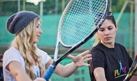 שיעורי טניס למבוגרים