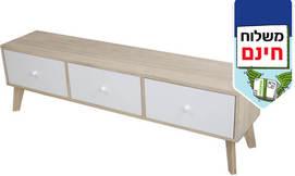 שידת טלוויזיה מעץ