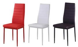 כיסא בריפוד דמוי עור