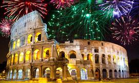 רומא, כולל חנוכה וסילבסטר