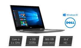 נייד Dell עם מסך מגע מתהפך