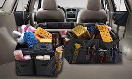 ארגוניות אחסון לרכב
