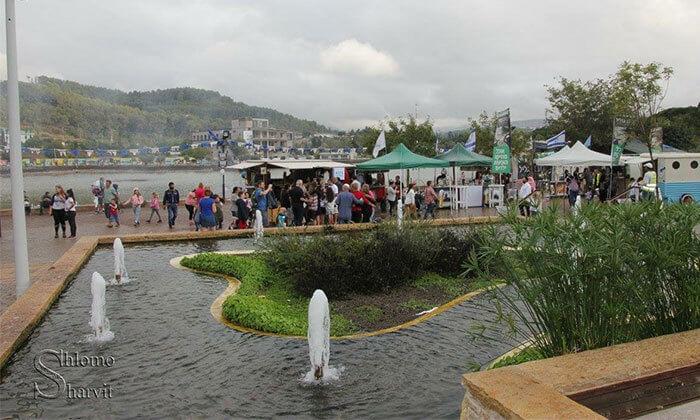 יום כיף באגם מונפורט כולל פארק אקסטרים!