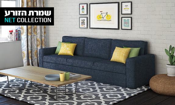 ספה תלת מושבית נפתחת דגם נועם