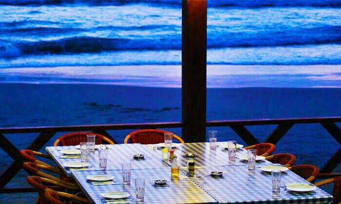 ארוחת דגים זוגית בסטלה ביץ', חוף בת ים