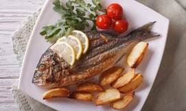 ארוחת דגים זוגית באלומה הכשרה
