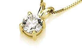 טבעת או תליון יהלום