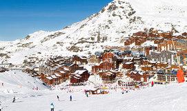 חופשת סקי בחנוכה ב-Val Thorens