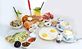 ארוחת בוקר זוגית במרשמלו