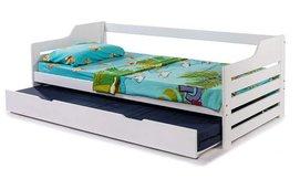 מיטת ילדים נפתחת מעץ מלא